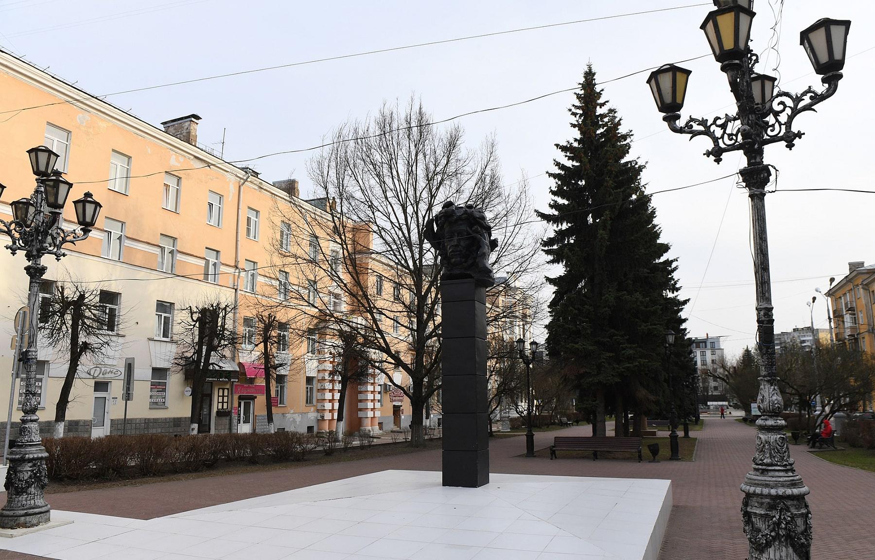 В историческом центре Твери отремонтируют тротуары