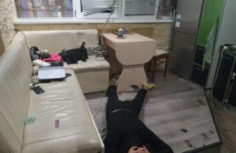 Спецназ штурмом взял тверской наркопритон: видео