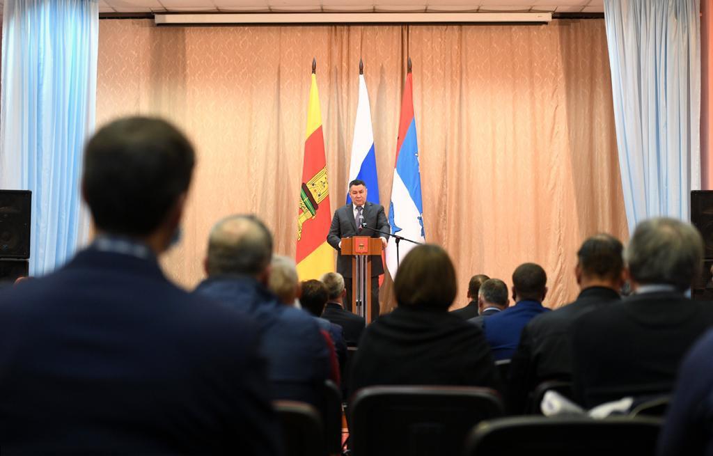 Игорь Руденя обсудил развитие Пеновского муниципального округа с местными жителями