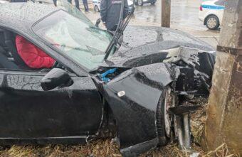 Опубликовано видео смертельного ДТП на Пожарной площади в Твери