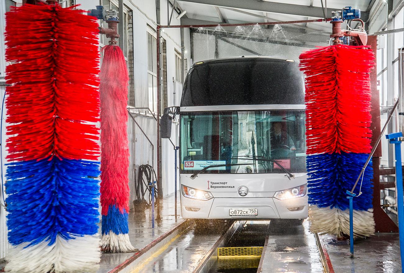 Во всех синих автобусах Твери к лету заработают кондиционеры