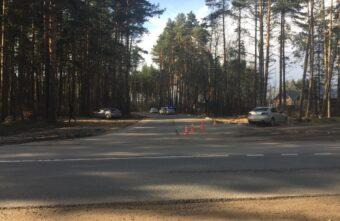 Появились фотографии с места ДТП в Твери, в котором пострадали два маленьких мальчика