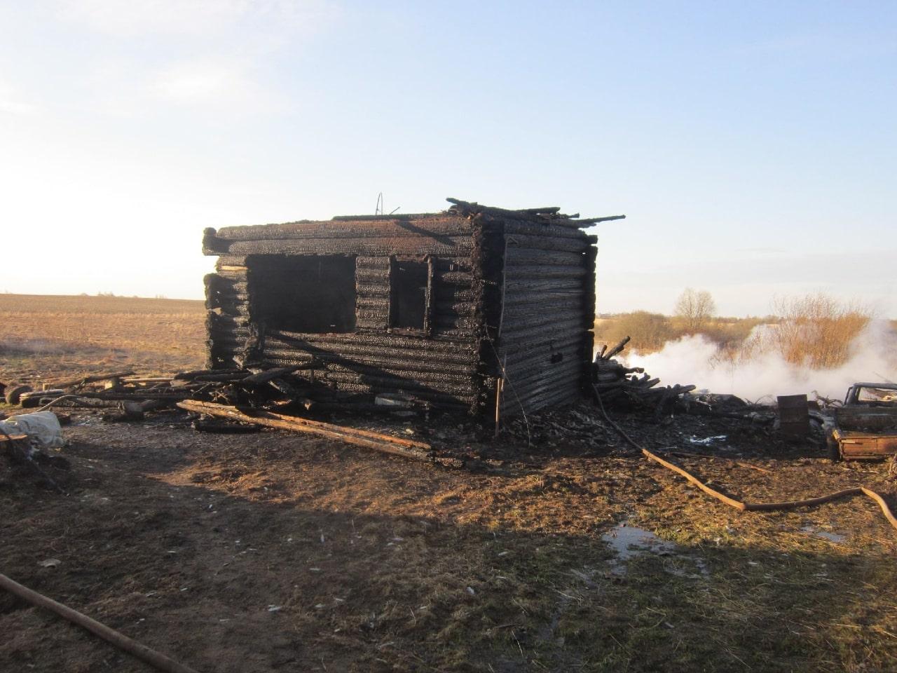 Мужчина и женщина погибли при пожаре в Тверской области