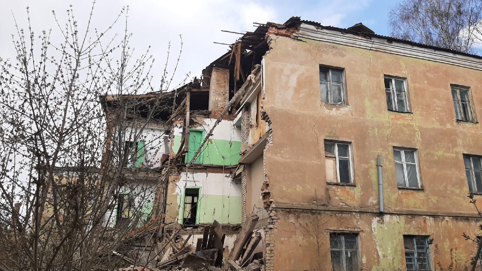 В ржевском общежитии, где рухнула стена, проживало шесть человек