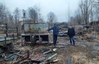 С помощью подкопа в Тверской области украли автозапчасти на 200 тысяч рублей
