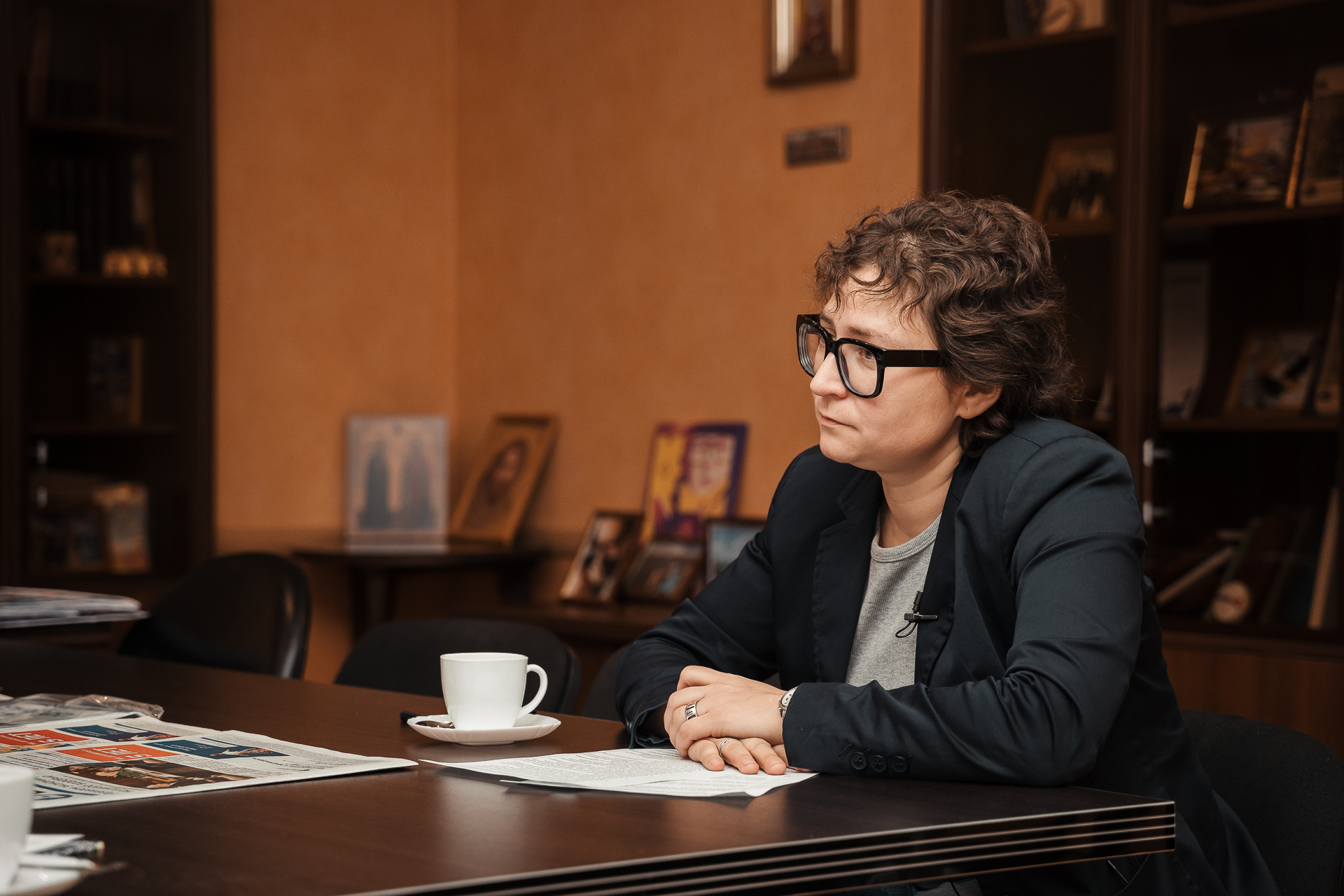 Школьники Тверской области смогут задать вопросы главному редактору РИА Верхневолжья Юлии Овсянниковой