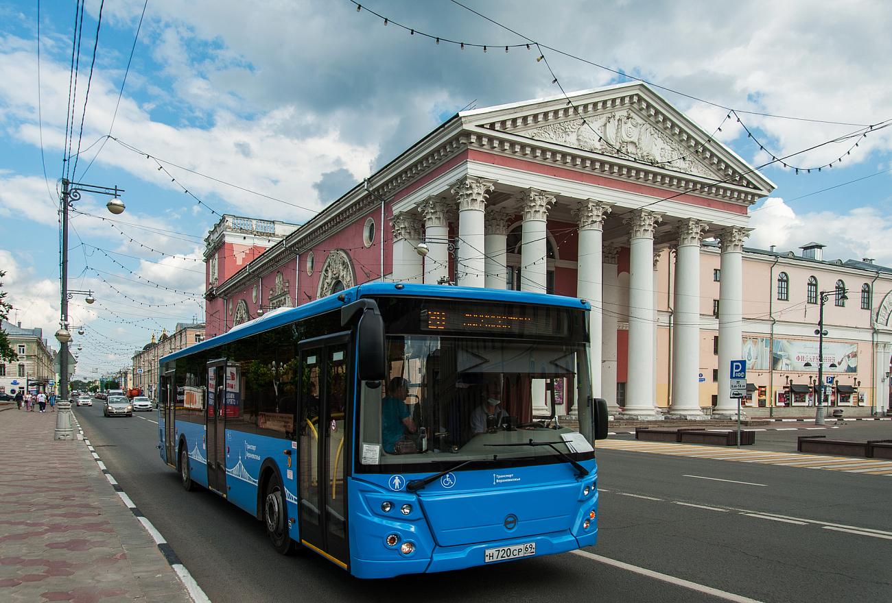 Новые автобусные остановки появятся в Твери с 1 мая