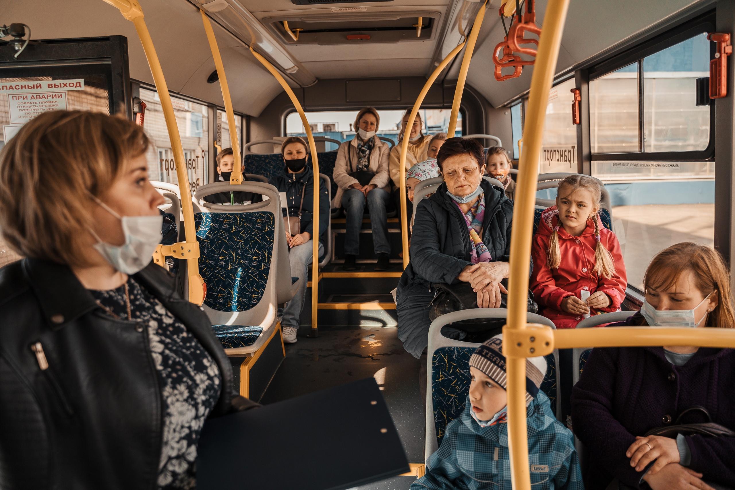 Дополнительные синие автобусы пустят в Твери на Вербное воскресенье и Пасху