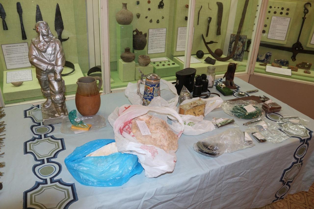 В Андреапольском краеведческом музее поставили на учёт 90 экспонатов