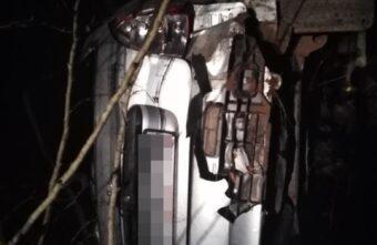 Появилось фото с места аварии в Тверской области, где погиб водитель «Лады»