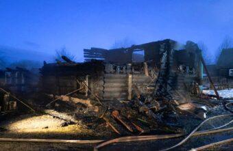 84-летняя женщина погибла при пожаре в Тверской области