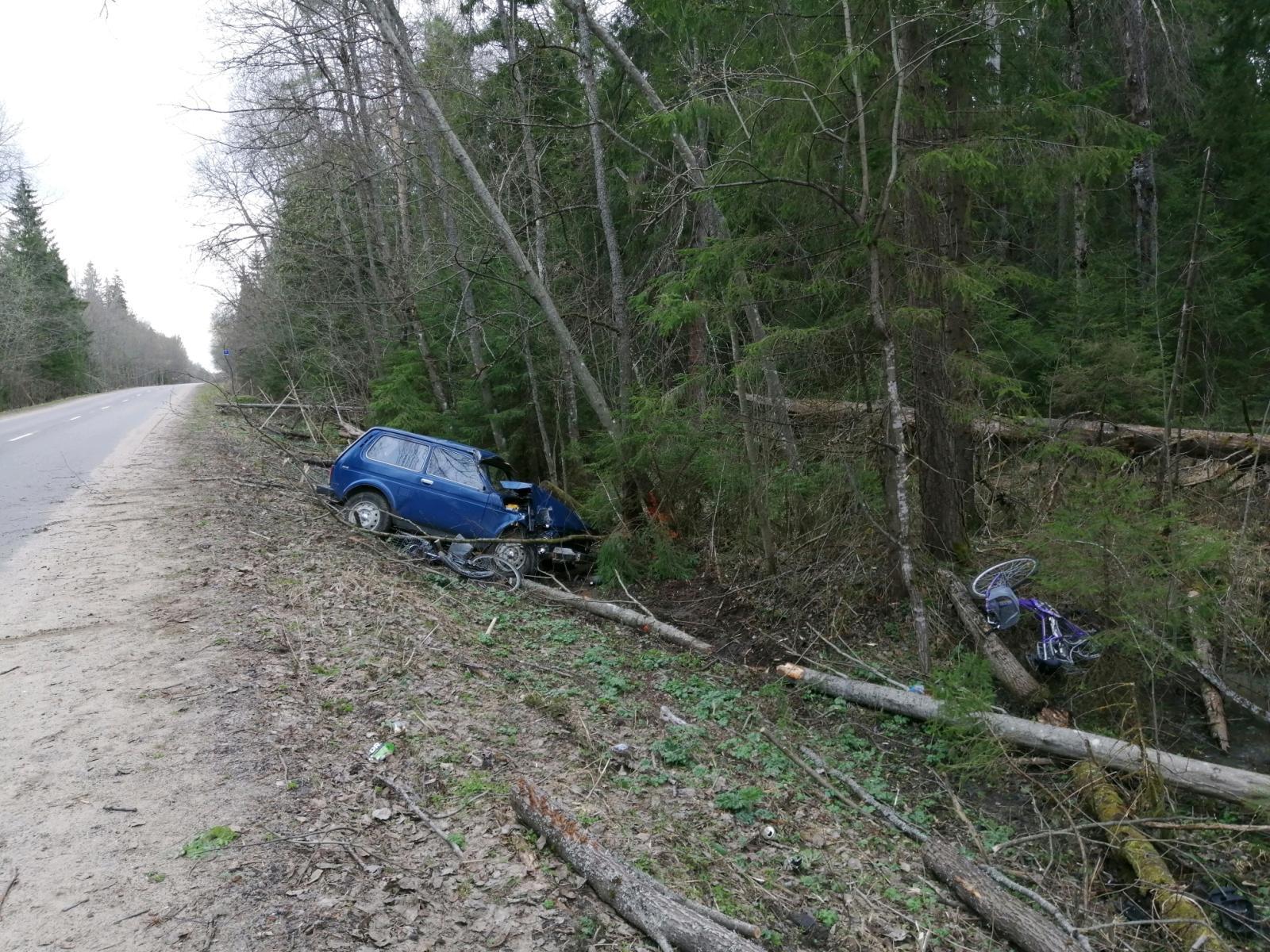 Водителя, насмерть сбившего велосипедистку в Тверской области, под стражу не взяли