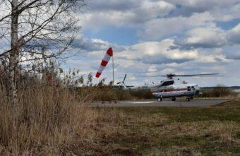 Девочку из Тверской области эвакуировали вертолётом санавиации