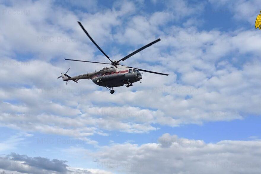 Женщину в тяжёлом состоянии доставили по воздуху в Тверь