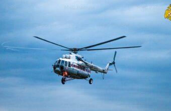 Вертолёт санавиации вылетал на помощь жителю Тверской области