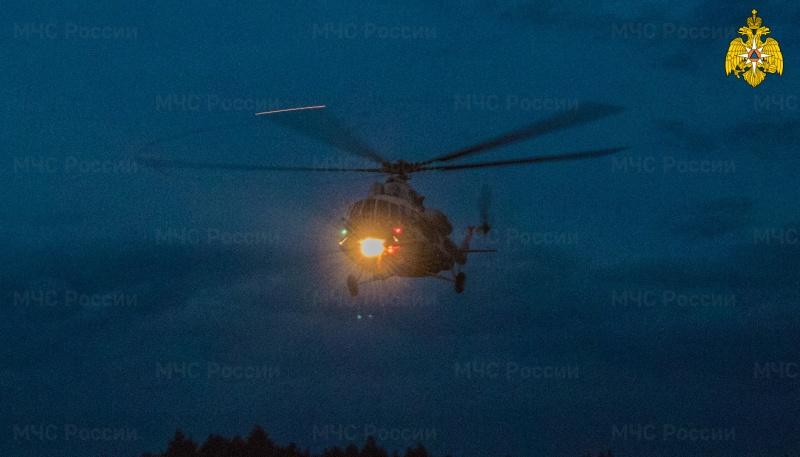 Счёт на минуты: пациента экстренно доставили вертолётом в Тверь