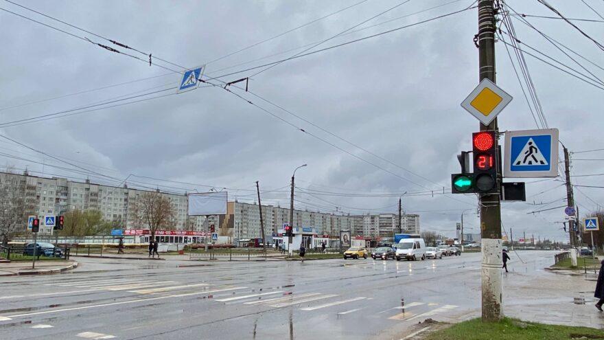 На улице Можайского в Твери изменилась схема движения
