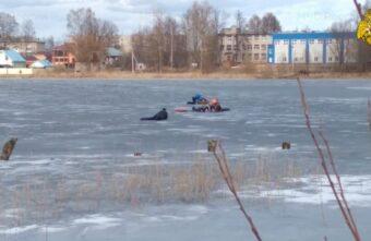 Двух детей, провалившихся под лёд, спасли в Тверской области