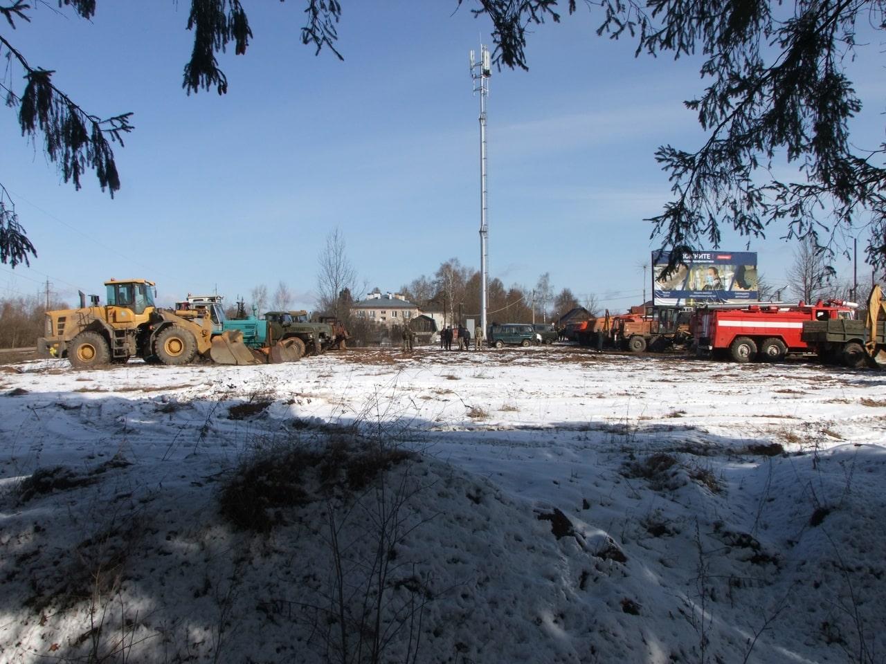 Подразделения и техника Торопецкого района готовы к пожароопасному периоду