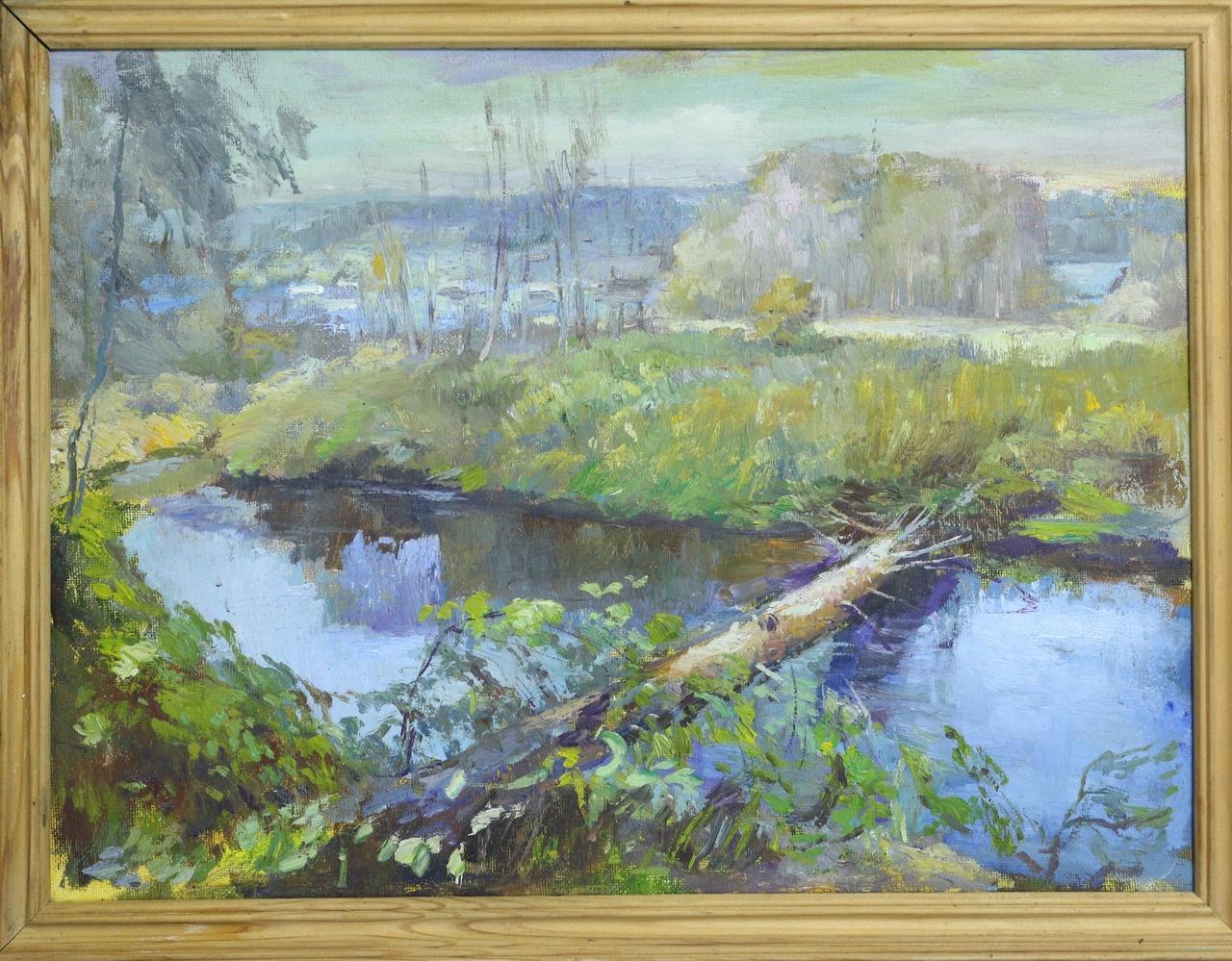 Член союза художников России подарил картины музею в Тверской области