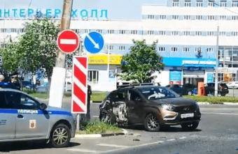 Пожилая женщина пострадала в столкновении двух машин в Твери