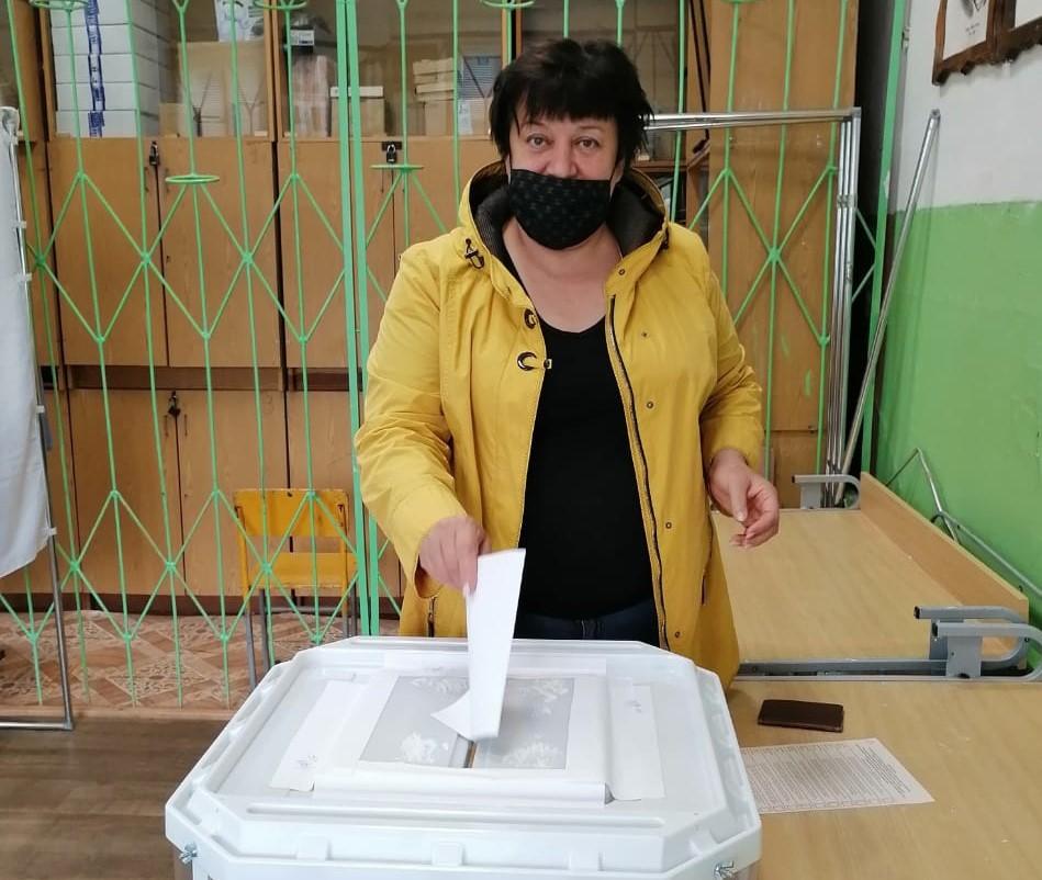 Наталья Виноградова: На участках для голосования соблюдается все меры безопасности