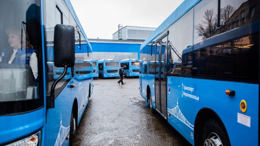 С 3 июля жители Ржева, Старицы, Кимр и Зубцова будут ездить на новых автобусах