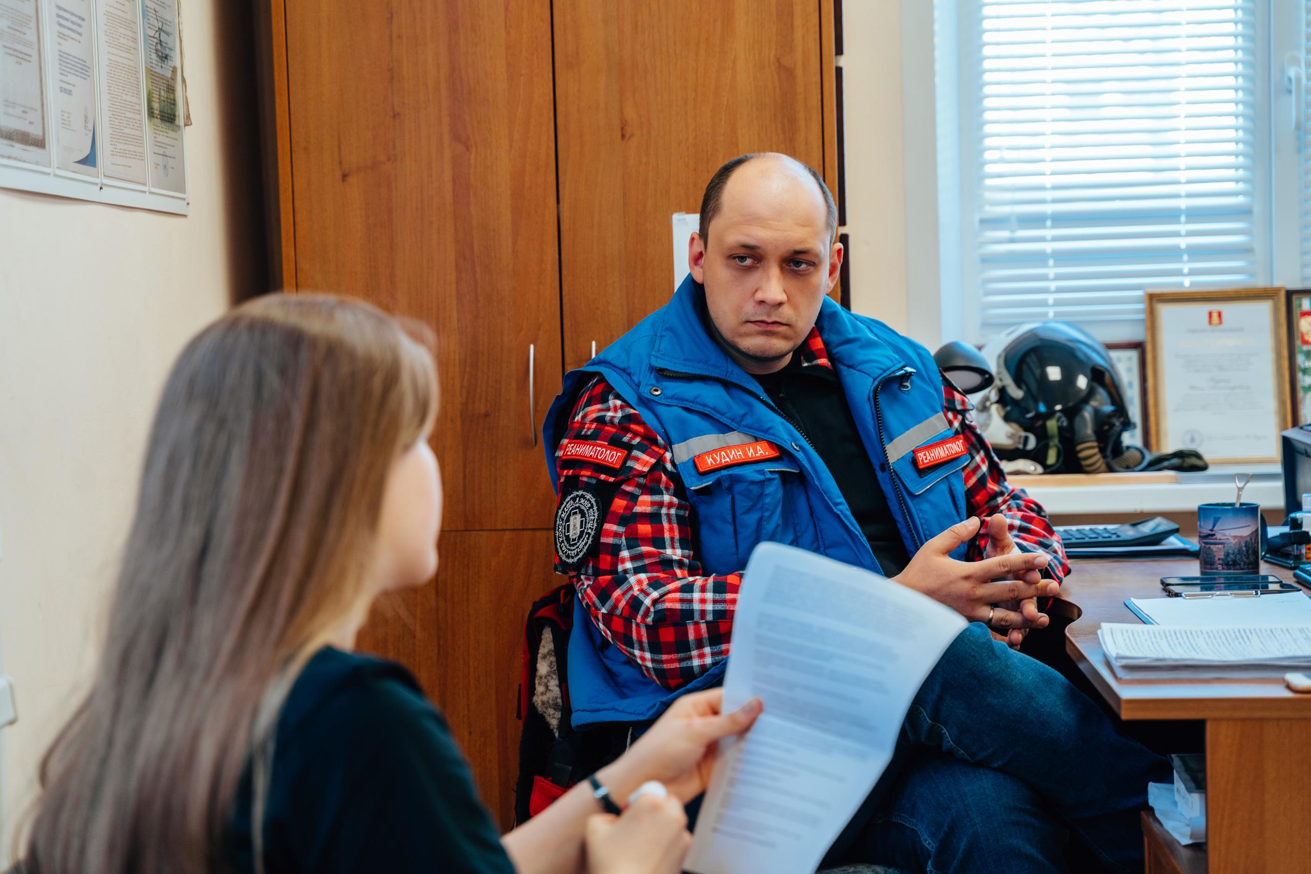 Прилетит вдруг волшебник: врач тверской санавиации рассказал о сложностях профессии