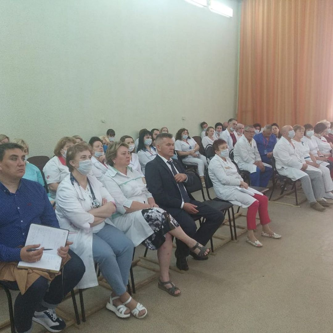 Юлия Саранова встретилась с представителями общественности Удомельского городского округа