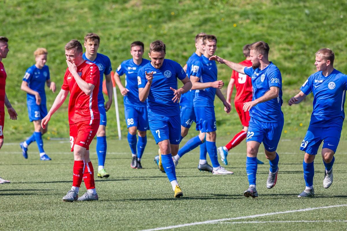 Тверские футболисты одержали победу над ФК «Луки-Энергия»