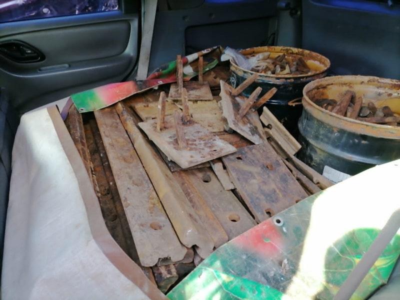 В Тверской области мужчина пытался сдать больше тонны ворованного металла