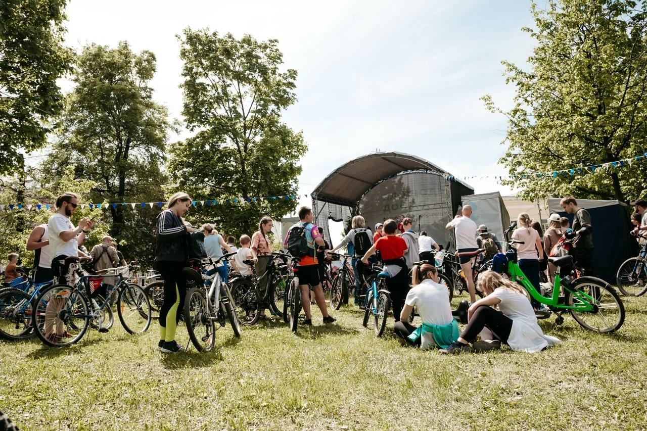 Лето зовет: как жители Твери отпраздновали открытие велосезона