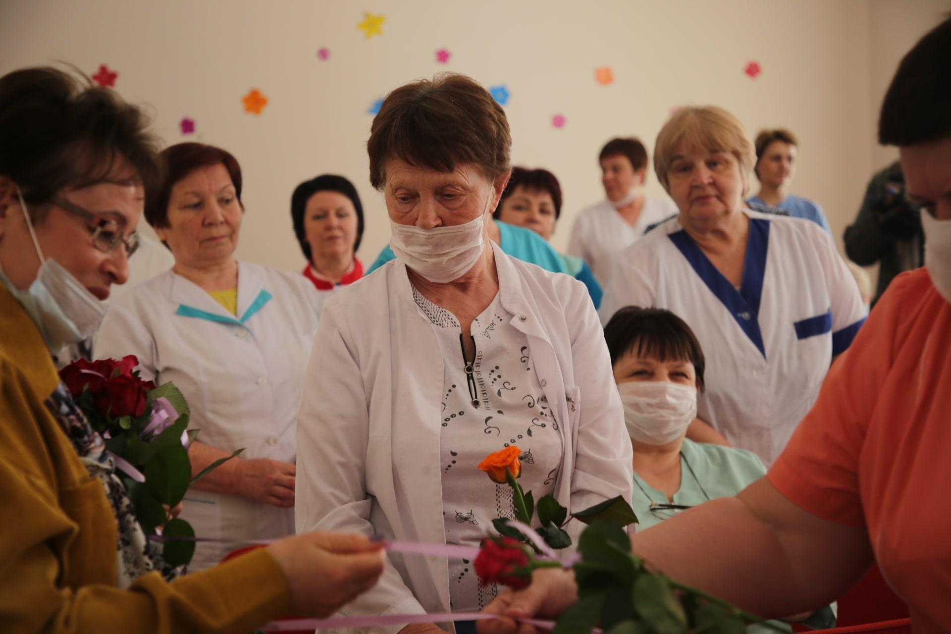 Юлия Саранова встретилась с жителями Рамешковского района