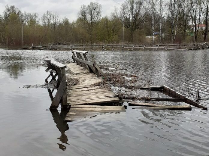 Цена рухнувшего моста в Тверской области за день увеличилась вдвое