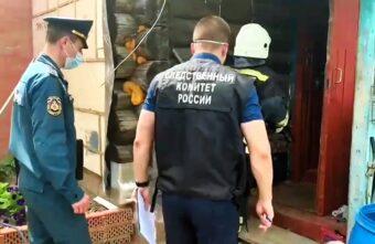 По факту гибели 7-летней девочки после пожара в Тверской области возбудили уголовное дело