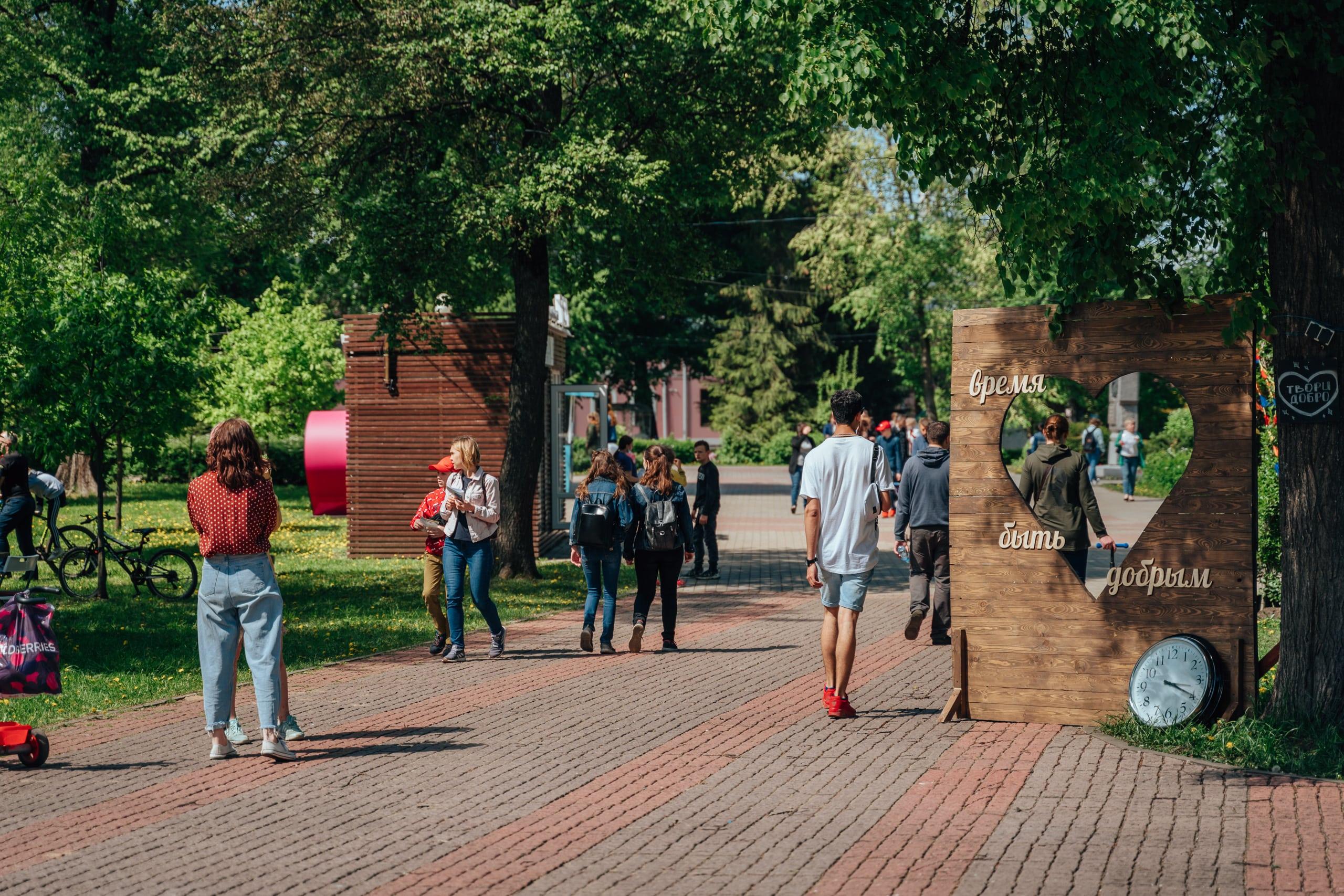 «Площадь Добра»: в Твери завершился первый день фестиваля благотворительности и волонтёрства