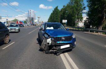 Число пострадавших в ДТП на Московском шоссе в Твери увеличилось