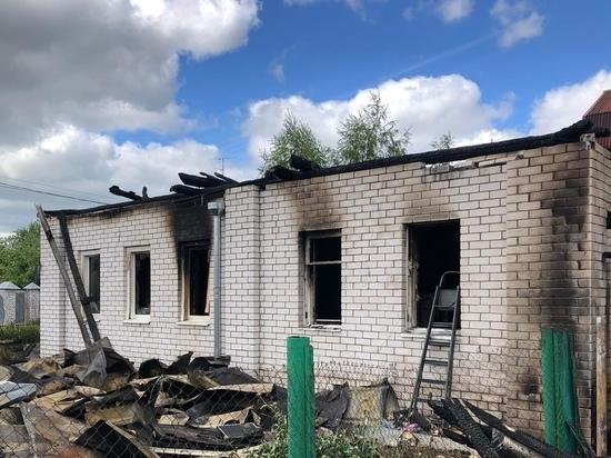 В Твери при пожаре пострадал 2-летний ребёнок