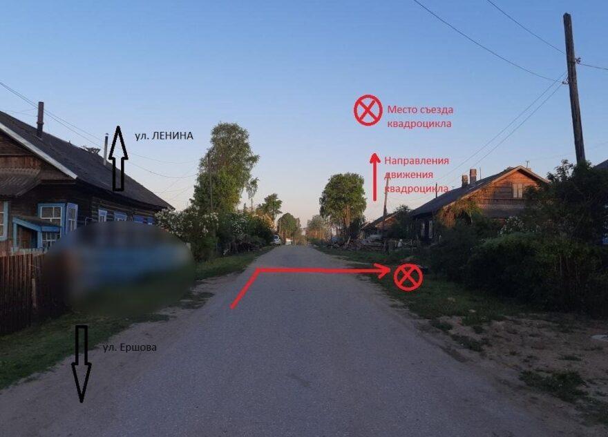 Двое шестилетних детей перевернулись на квадроцикле в Тверской области