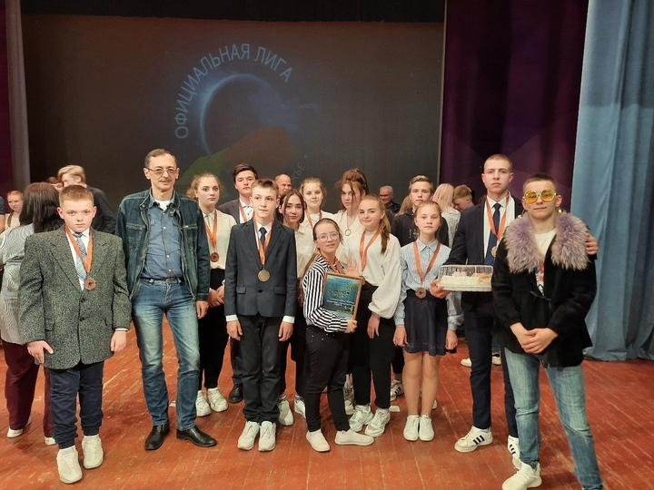 Команда из Оленино стала призёром в юниор-лиге КВН