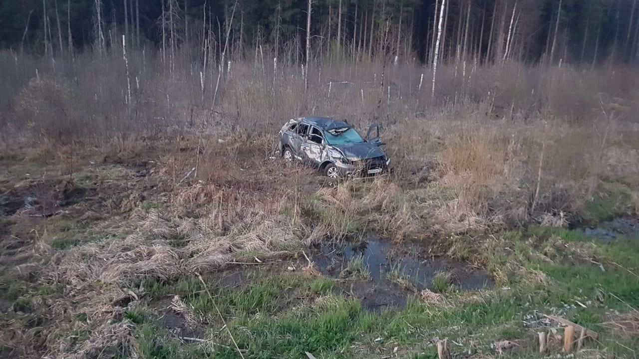 Семья попала в серьёзную аварию, возвращаясь с отдыха в Тверской области