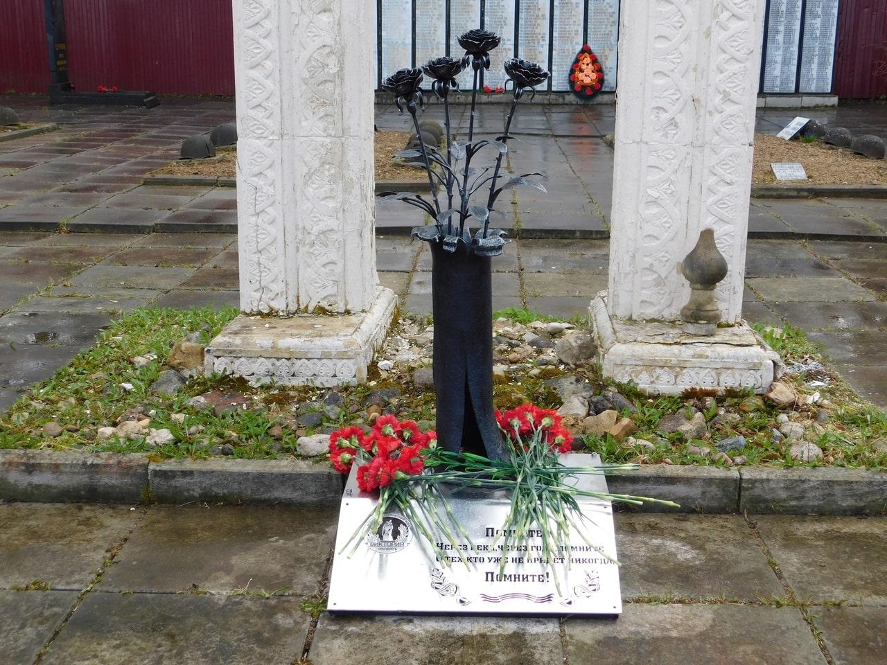 В Оленинском МО открыли памятник солдатам Великой Отечественной войны