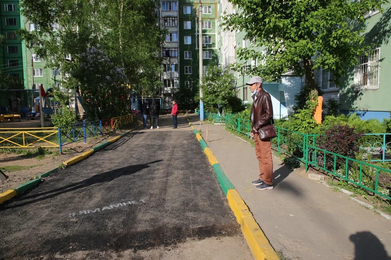 Жители улицы Артюхиной поблагодарили Владимира Васильева за помощь