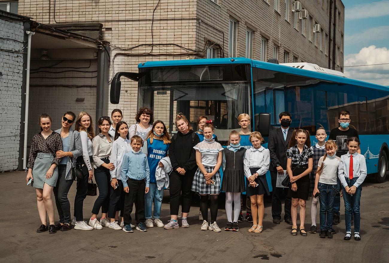 Тверские школьники писали сказки и доклады об автобусах