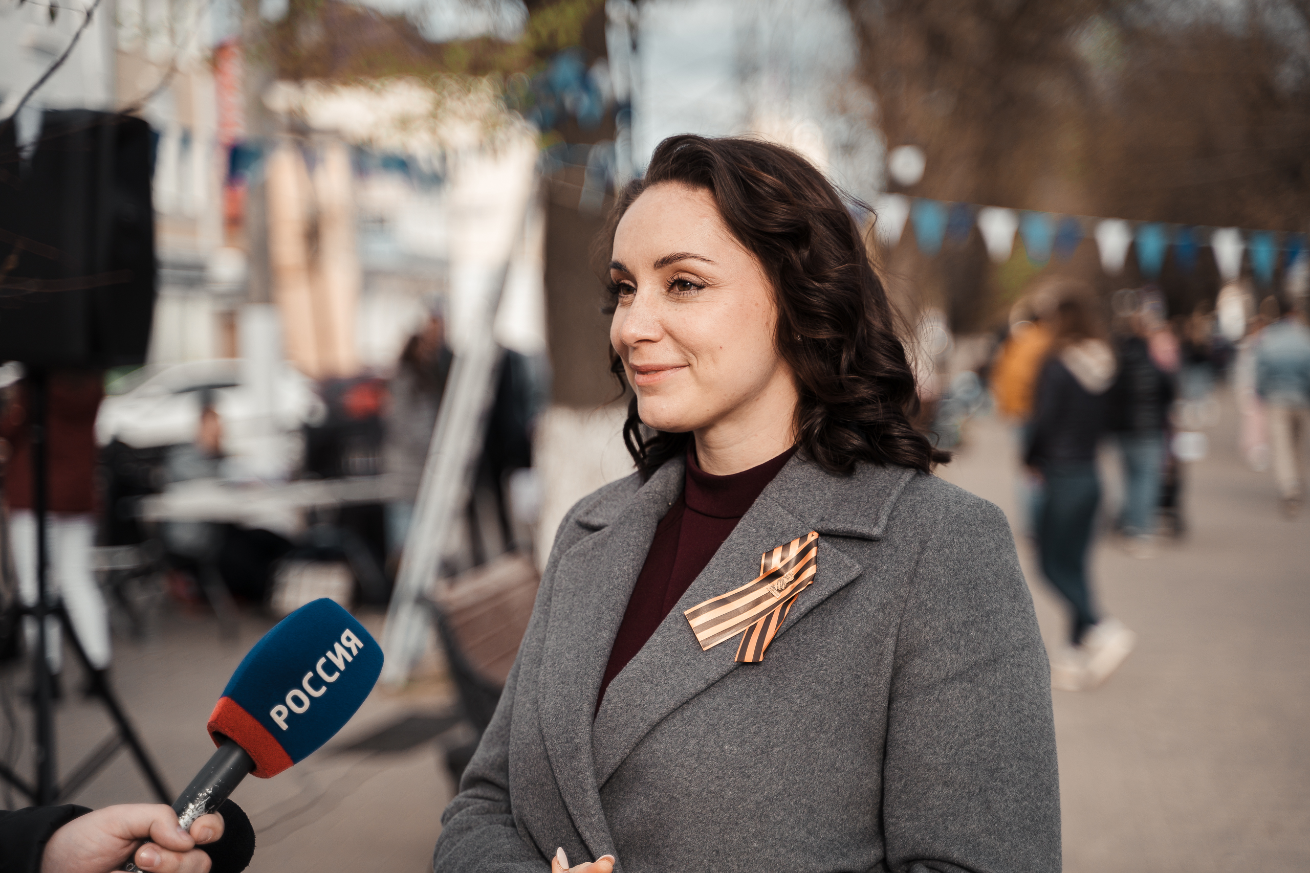 """Юлия Саранова: """"Волонтеры сделали жителям Твери музыкальный подарок"""""""