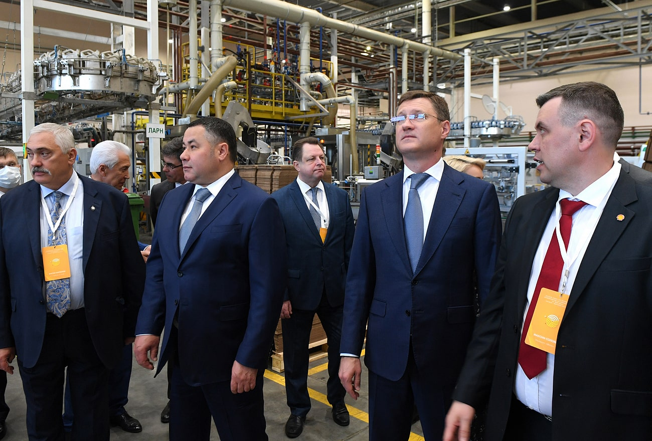 Компания «Шелл» расширяет производство в Тверской области