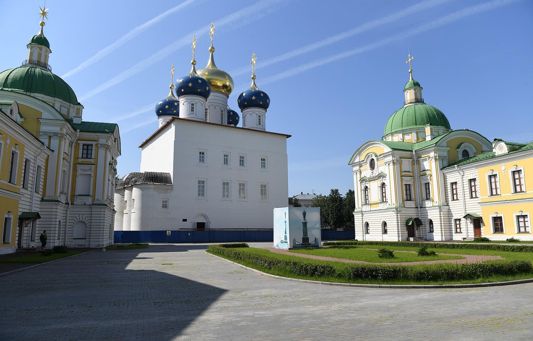 Территория Спасо-Преображенского собора в Твери будет благоустроена