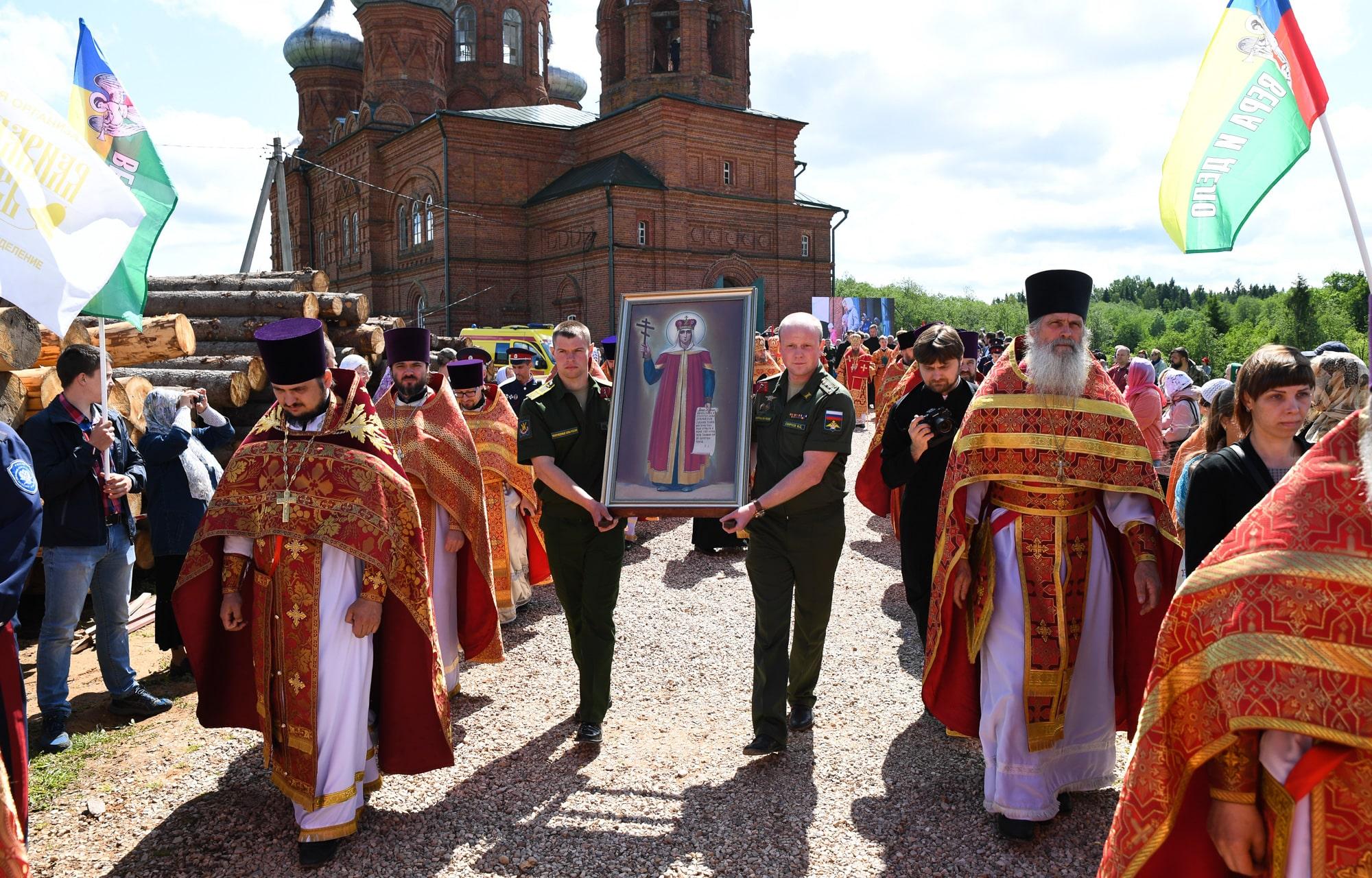 XXII Волжский Крестный ход пройдёт по территориям 11 районов Тверской области