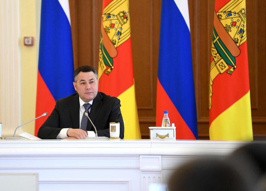 Губернатор Игорь Руденя представил в Твери двух новых своих заместителей