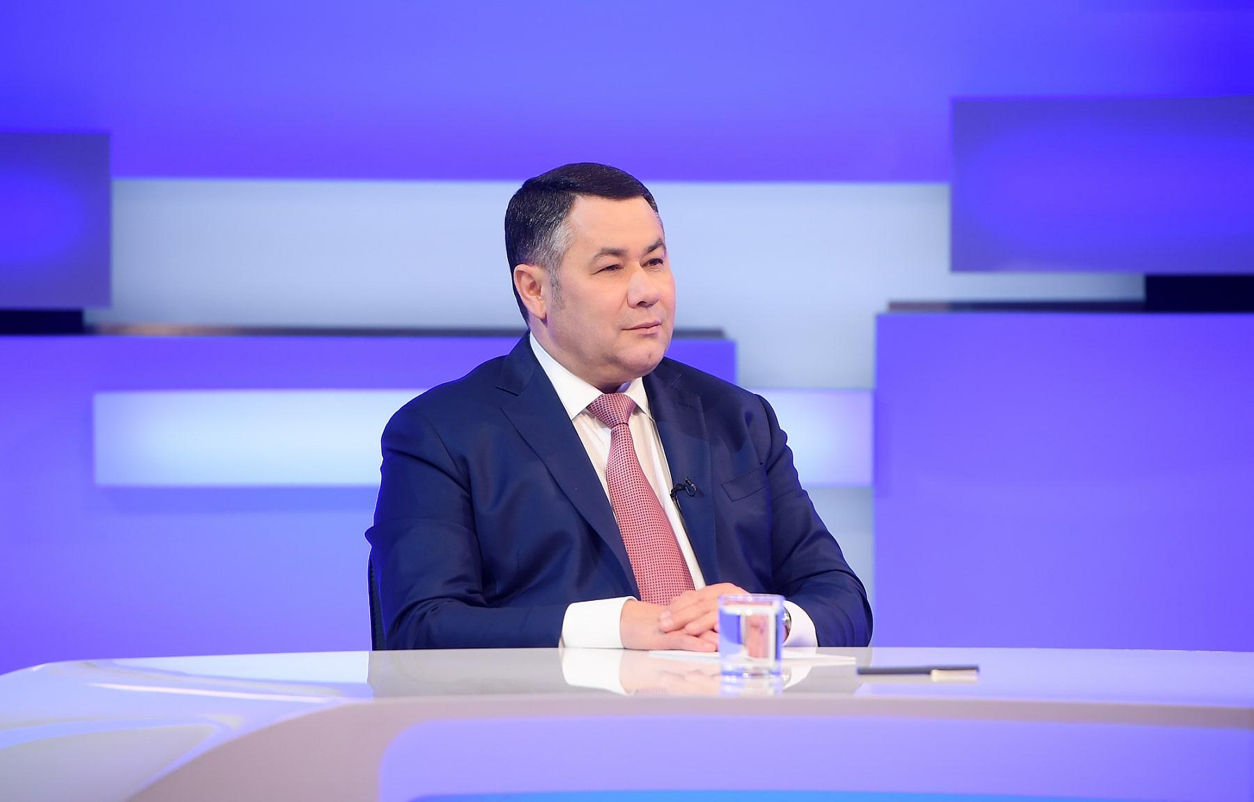 Игорь Руденя в прямом эфире расскажет о ремонте дорог и мостов